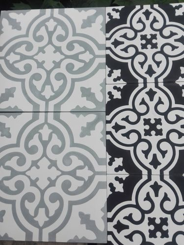 Cement tile in stock
