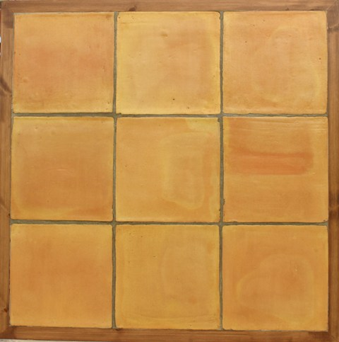 Terracotta floor tile 25 x 25
