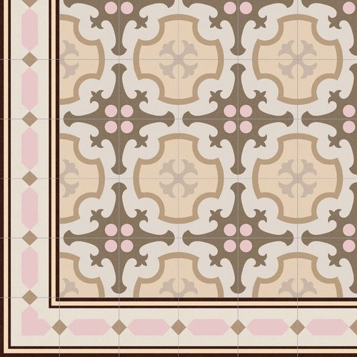 Ceramic Floor Tile Ordal Beige